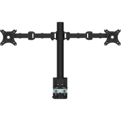 Rapidline Revolve Monitor Arm Dual 408mm H Central Pole 425mm Arm Reach