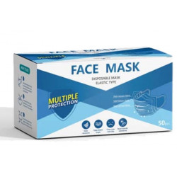 Disposable Face Mask - Elastic Type BOX 50
