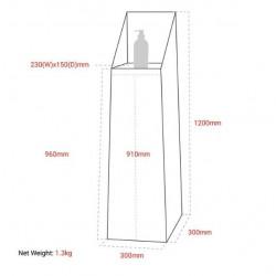 Hand Sanitising Station Floor Stand + Hand Sanitiser