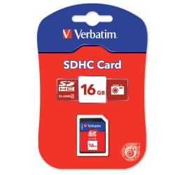 VERBATIM SECURE MEMORY CARD SDHC Card 16GB (Class 4)