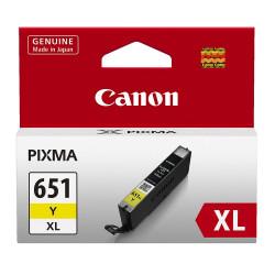 CANON CLI651XLY INK CARTRIDGE YELLOW XL