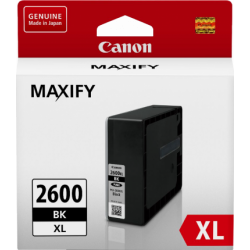 CANON INK TANK 2600 XL BLACK 2500 PAGES