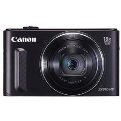 CANON SX610HS DIGITAL CAMERA Black, 20MP, 18x Zoom