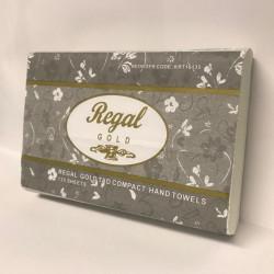REGAL GOLD PREMIUM HAND TOWEL Compact TAD 19 5x29cm 135s pkt 16