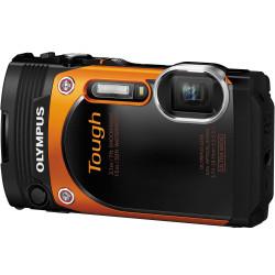 OLYMPUS TG860 DIGITAL CAMERA Orange 16MP