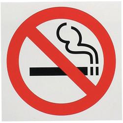 GEO SYMBOL SIGNS No Smoking 150x150 Red/Blk/Wht