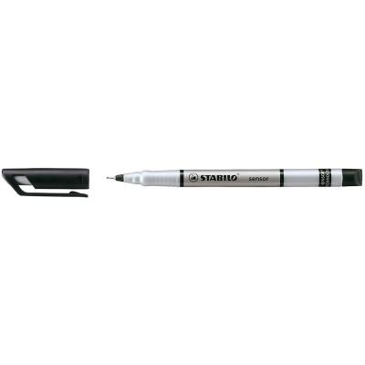 STABILO SENSOR FINELINER 189/46 0.3mm Black