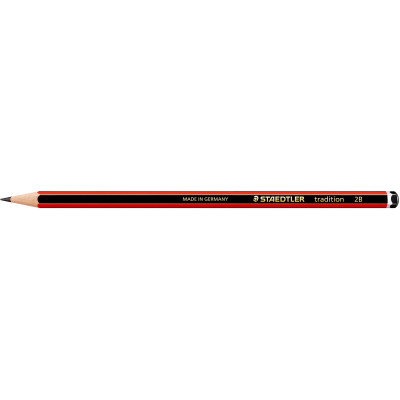 STAEDTLER 110 TRADITION PENCIL Graphite 2B
