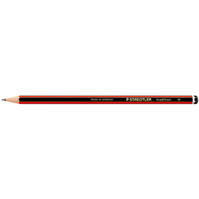 STAEDTLER 110 TRADITION PENCIL Graphite H