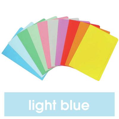 MARBIG MANILLA FOLDER F/Cap Light Blue Pack of 20