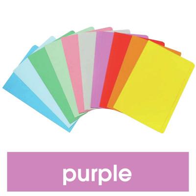 MARBIG MANILLA FOLDER F/Cap Purple Pack of 20
