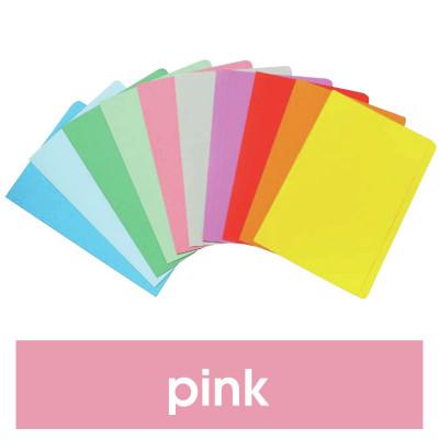 MARBIG MANILLA FOLDER F/Cap Pink Pack of 20