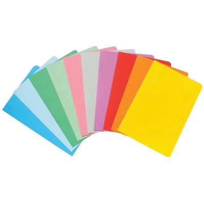 MARBIG MANILLA FOLDER F/Cap Assorted Colours Pack of 20