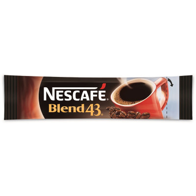 NESCAFE BLEND 43 COFFEE Stick Carton of 1000