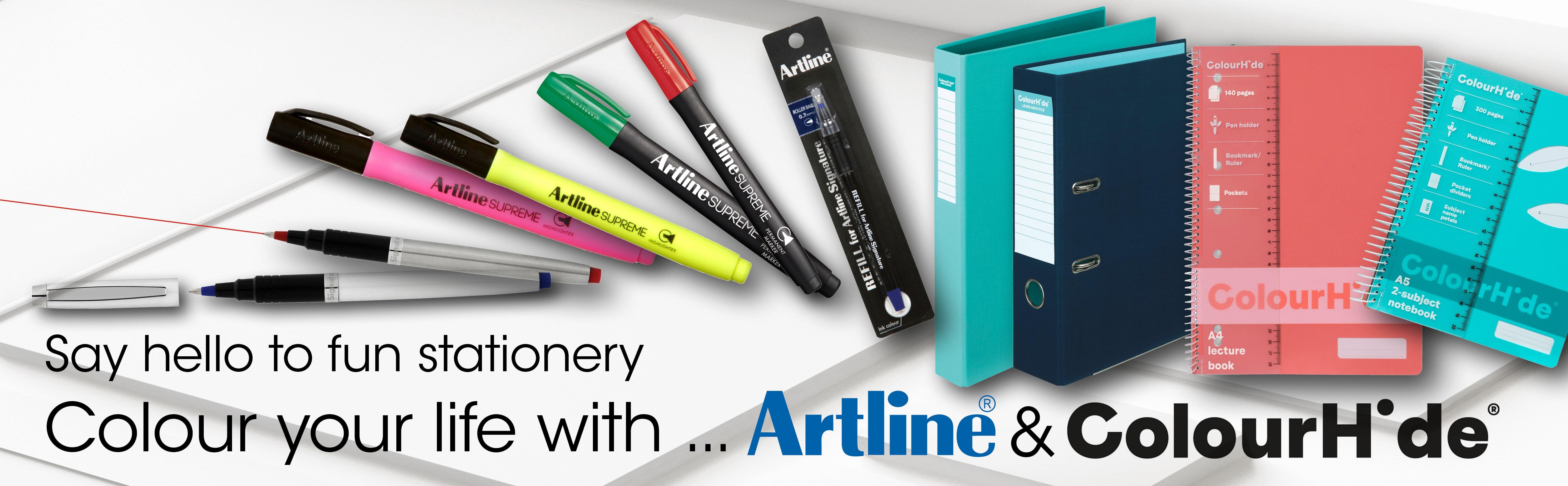 Artline and Colourhide